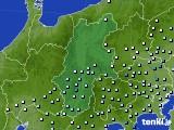 長野県のアメダス実況(降水量)(2019年02月28日)
