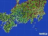 東海地方のアメダス実況(日照時間)(2019年03月19日)