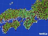 2019年03月26日の近畿地方のアメダス(日照時間)