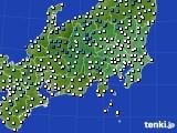 2019年04月01日の関東・甲信地方のアメダス(気温)