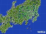 2019年04月01日の関東・甲信地方のアメダス(風向・風速)