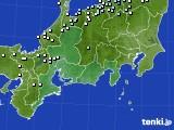 東海地方のアメダス実況(降水量)(2019年04月02日)