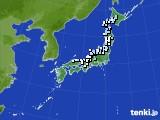 2019年04月02日のアメダス(降水量)