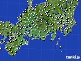 東海地方のアメダス実況(風向・風速)(2019年04月02日)