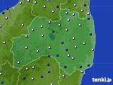 福島県のアメダス実況(風向・風速)(2019年04月02日)