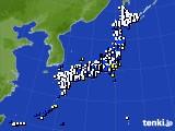 アメダス実況(風向・風速)(2019年04月05日)