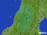 山形県のアメダス実況(風向・風速)(2019年04月08日)