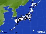 アメダス実況(風向・風速)(2019年04月09日)