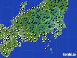 2019年04月10日の関東・甲信地方のアメダス(気温)