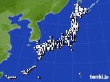 アメダス実況(風向・風速)(2019年04月11日)
