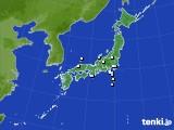 アメダス実況(降水量)(2019年04月12日)