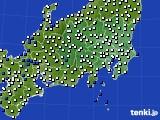 2019年04月12日の関東・甲信地方のアメダス(風向・風速)