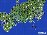 東海地方のアメダス実況(風向・風速)(2019年04月15日)