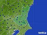 茨城県のアメダス実況(風向・風速)(2019年04月15日)