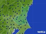 茨城県のアメダス実況(日照時間)(2019年04月17日)
