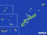 2019年04月24日の沖縄県のアメダス(日照時間)