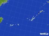 沖縄地方のアメダス実況(降水量)(2019年04月25日)