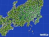 2019年04月26日の関東・甲信地方のアメダス(風向・風速)