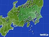 関東・甲信地方のアメダス実況(降水量)(2019年04月27日)