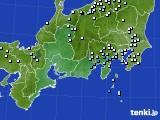 東海地方のアメダス実況(降水量)(2019年04月27日)