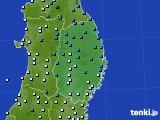2019年04月27日の岩手県のアメダス(気温)