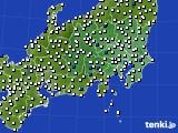 2019年04月28日の関東・甲信地方のアメダス(風向・風速)