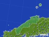 島根県のアメダス実況(降水量)(2019年04月29日)