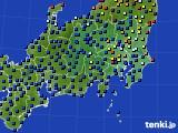 2019年04月29日の関東・甲信地方のアメダス(日照時間)