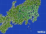 2019年04月29日の関東・甲信地方のアメダス(風向・風速)