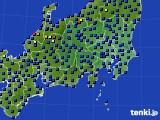 2019年04月30日の関東・甲信地方のアメダス(日照時間)