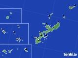 沖縄県のアメダス実況(降水量)(2019年05月01日)