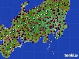2019年05月03日の関東・甲信地方のアメダス(日照時間)