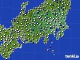 2019年05月03日の関東・甲信地方のアメダス(風向・風速)