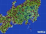 2019年05月04日の関東・甲信地方のアメダス(日照時間)
