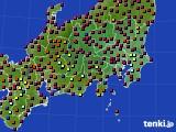 2019年05月05日の関東・甲信地方のアメダス(日照時間)