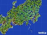 2019年05月06日の関東・甲信地方のアメダス(日照時間)