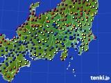 2019年05月09日の関東・甲信地方のアメダス(日照時間)