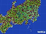 2019年05月12日の関東・甲信地方のアメダス(日照時間)