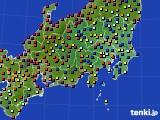 2019年05月15日の関東・甲信地方のアメダス(日照時間)