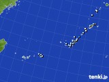 沖縄地方のアメダス実況(降水量)(2019年05月16日)