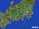 2019年05月17日の関東・甲信地方のアメダス(日照時間)