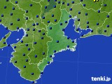 三重県のアメダス実況(日照時間)(2019年05月20日)