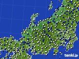 北陸地方のアメダス実況(風向・風速)(2019年05月20日)