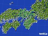 近畿地方のアメダス実況(風向・風速)(2019年05月20日)