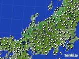 北陸地方のアメダス実況(風向・風速)(2019年05月21日)