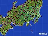 2019年05月22日の関東・甲信地方のアメダス(日照時間)