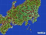 関東・甲信地方のアメダス実況(気温)(2019年05月25日)