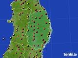 2019年05月26日の岩手県のアメダス(気温)