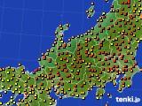 2019年05月27日の北陸地方のアメダス(気温)