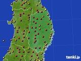 2019年05月27日の岩手県のアメダス(気温)